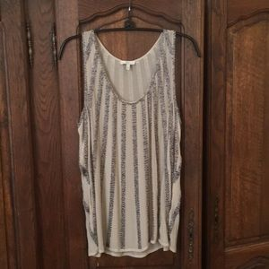 Joie Silk and beaded top